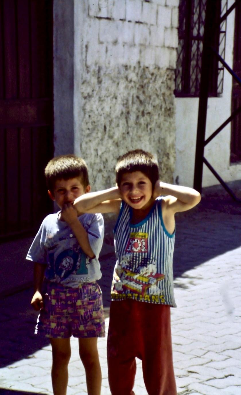 Kinderen in Turkije