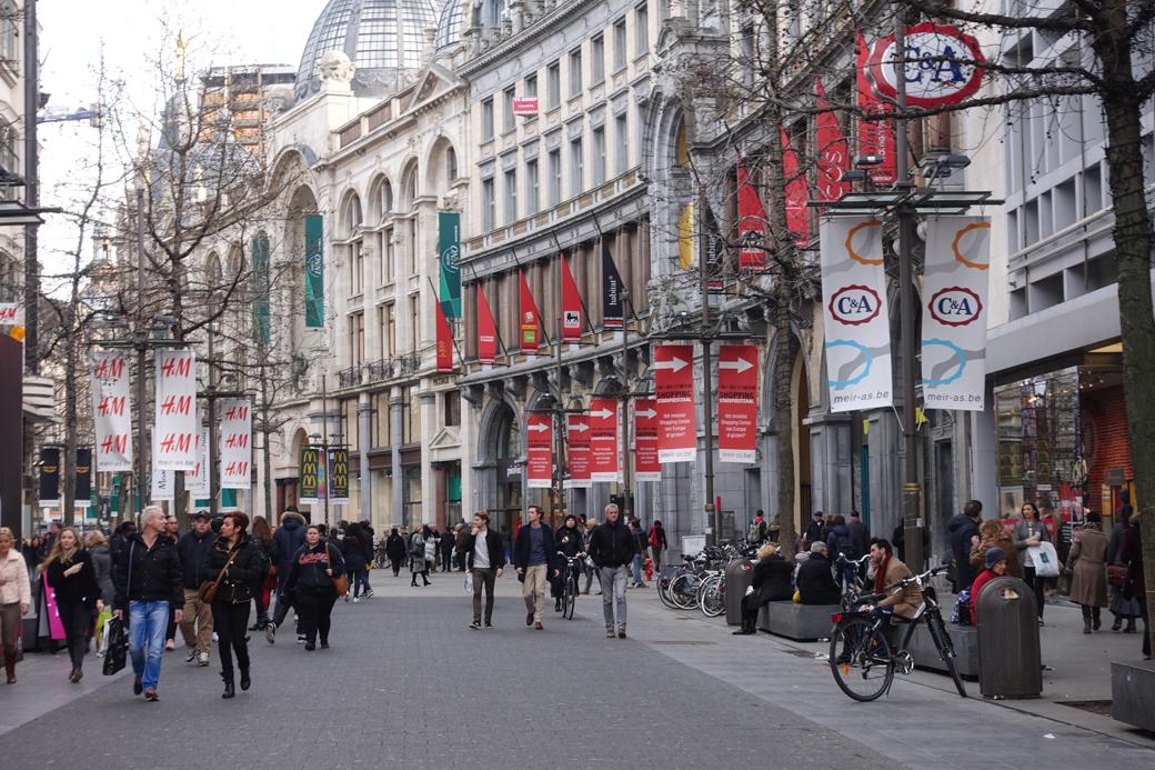 De Meir In Antwerpen