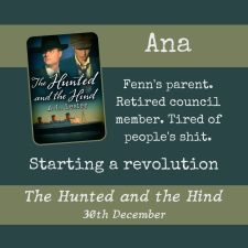 Ana, Fenn's parent. Starting a revolution.