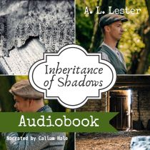 Cover for audiobook of Inheritance of Shadows