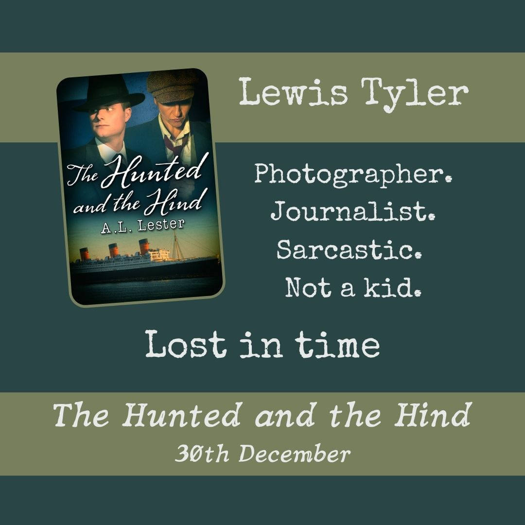 Lewis Tyler, reporter. Lost in Time.