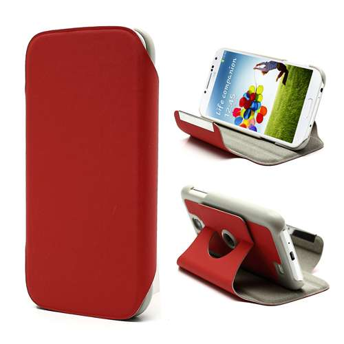 Stand Case Samsung Galaxy S4 i9500 Rood