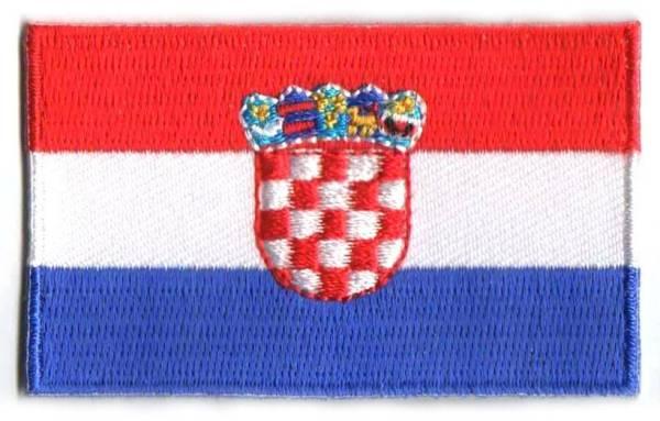 vlag patch Kroatië