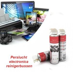 Perslucht electronica reinigerbussen - 600ml per bus ( 2-pack )