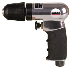 """Rodac RC203A Pneumatische boormachine - Snelspankop - 2800 tr/min - 7mm - 1/4"""""""