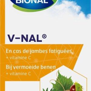 Bional V-nal - Bloedvaten - Bij vermoeide benen - Voedingssupplement met vitamine C - 40 capsules