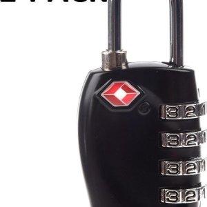 2-Pack TSA Kofferslo2-Pack TSA Kofferslot - TSA Slot - Reisslot - Cijferslot - Bagageslot - Hangslot t - TSA Slot - Reisslot - Cijferslot - Bagageslot - Hangslot