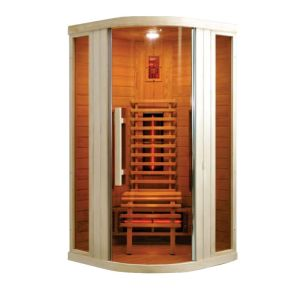 Badstuber Relax 1 infrarood sauna 100x100cm 1 persoon