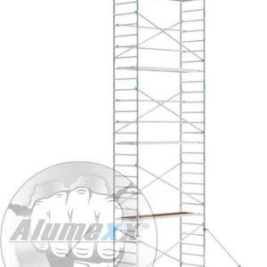 Basic rolsteiger 90 x 10.2 mtr werkhoogte en lengte platform