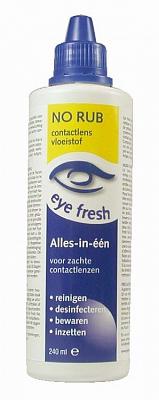 Eyefresh Lenzenvloeistof Alles-in-een Zachte Lenzen No Rub