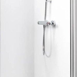 Get Wet by Sealskin Inloop douchewand W105 A3 100 cm chroom