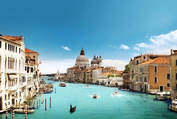 Venetië - Kathedraal en kanaal - Diamond Painting 50x40 cm (volledige bedekking) inclusief premium tools
