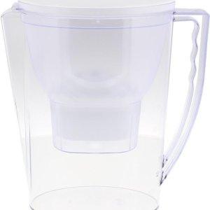 Creartix - Waterfilterkan incl. GRATIS waterfilterpatroon - Waterfilter - Waterontharder - Waterontkalker - Kraanwater zuiveren - compatibel met Brita MAXTRA Filterpatronen