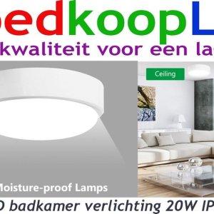 LED badkamer verlichting 20W IP 54