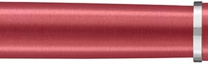 Waterman vulpen Hémisphère Coral Pink met palladium detail