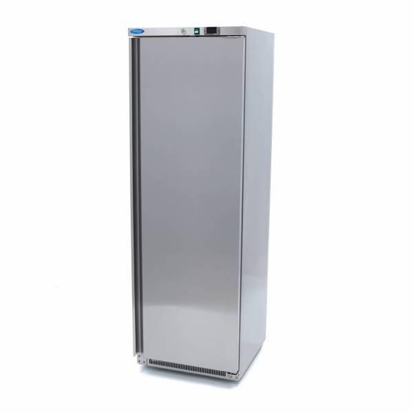 Horeca Koelkast 400 Liter - RVS - Digitale Temp. Controle - 6 Verstelbare Roosters - Verstelbare Poten - Met Slot - Koeling - Maxima