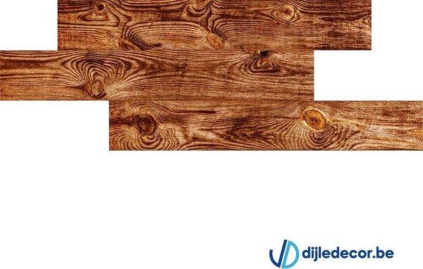 Houtlook wandpaneel | 2,5m2 | 100cm x 16cm | DDWD09