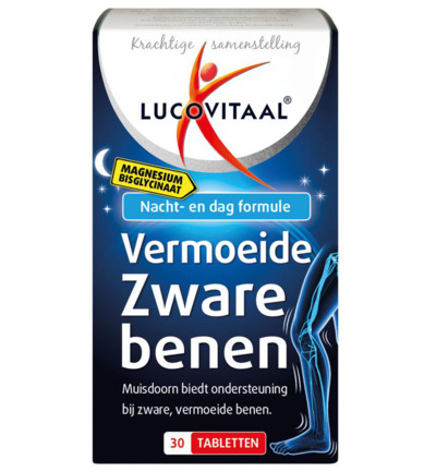 Lucovitaal Magnesium Vermoeide Zware Benen (30tb)