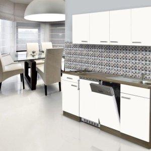 Meister complete zelfbouw keuken 195 breed met vaatwasser en koelkast