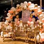 organic ballondecoratie feest