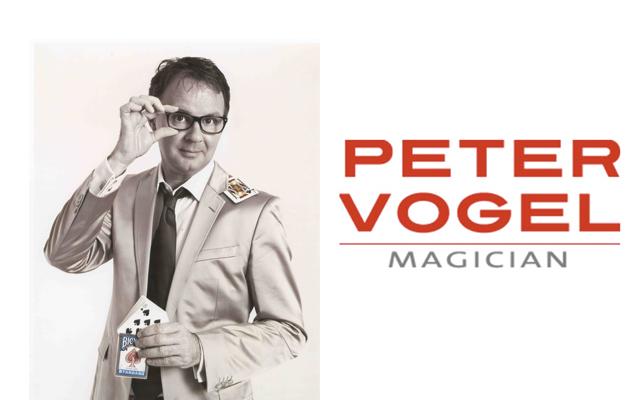 Goochelaar Peter Vogel
