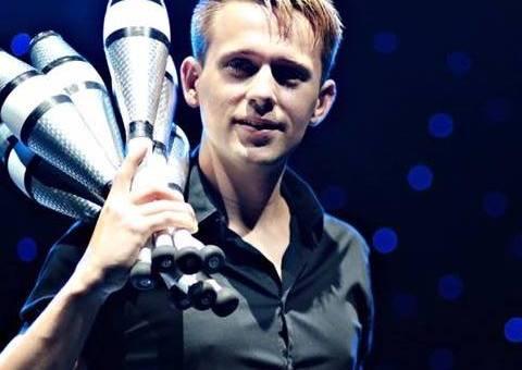 Niels Duinker, jongleur
