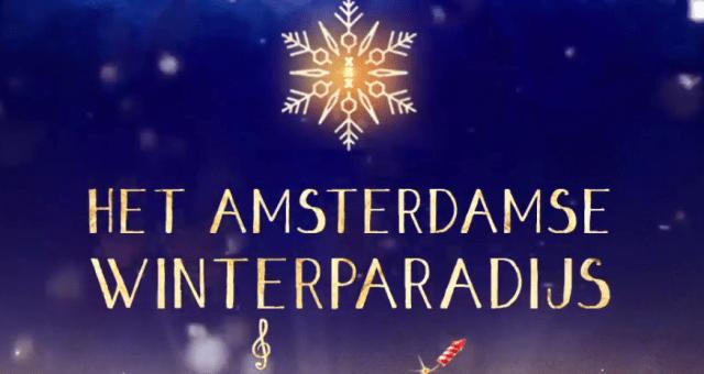 het amsterdamse winterparadijs kerstmarkt event amsterdam