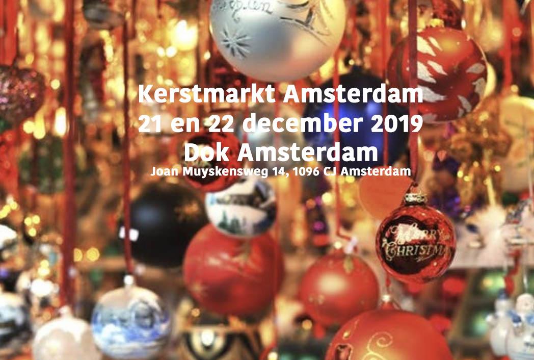 kerstmarkt amsterdasm, dok amsterdam