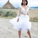 La Jacket Classic Frufru es el reflejo de belleza y sencillez del ganchillo.