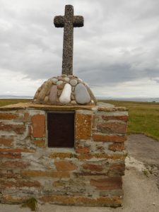 War memorial on the island of Stroma