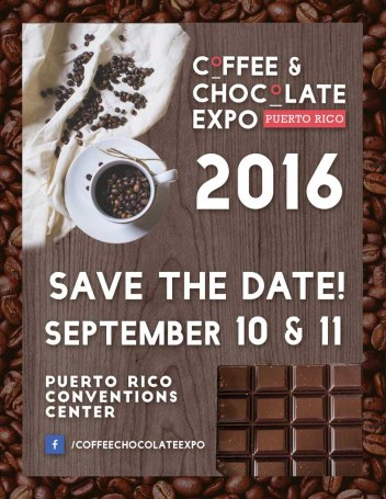 Coffee & Chocolate Expo PR in Photoshop