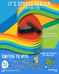 IPTV poster in Photoshop