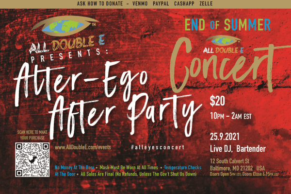 After Party flyer