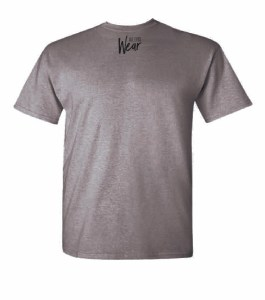Logo on Back of Been Did It Gray T-shirt