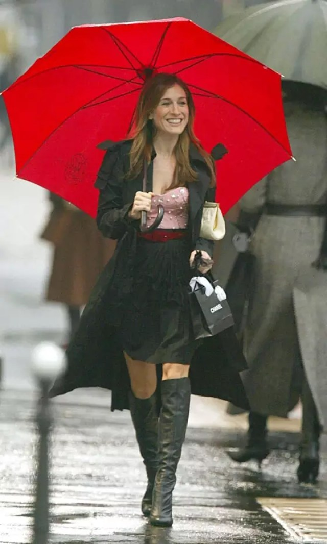 best carrie bradshaw looks according to alley girl 18