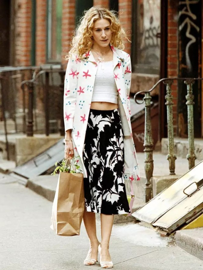 best carrie bradshaw looks according to alley girl 3