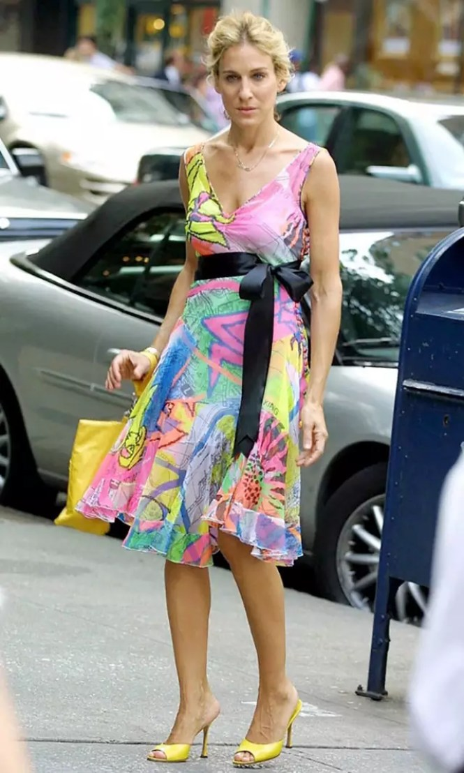 best carrie bradshaw looks according to alley girl 4