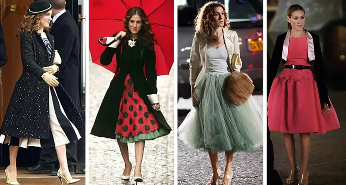 Sex and the Style - Carrie's Best Looks according to Alley Girl