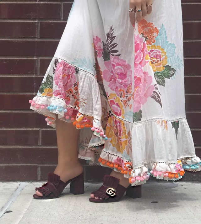 anthropologie-maxi-dresses-pom-pom-dress-for-summer-alley-girl-gucci-tassel-pums-gucci-sandals