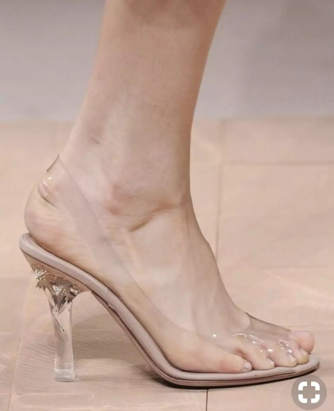 Clear Transparent Shoes? ~ Alley Girl