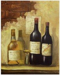 Wine Bottle Paintings Canvas | www.pixshark.com - Images ...