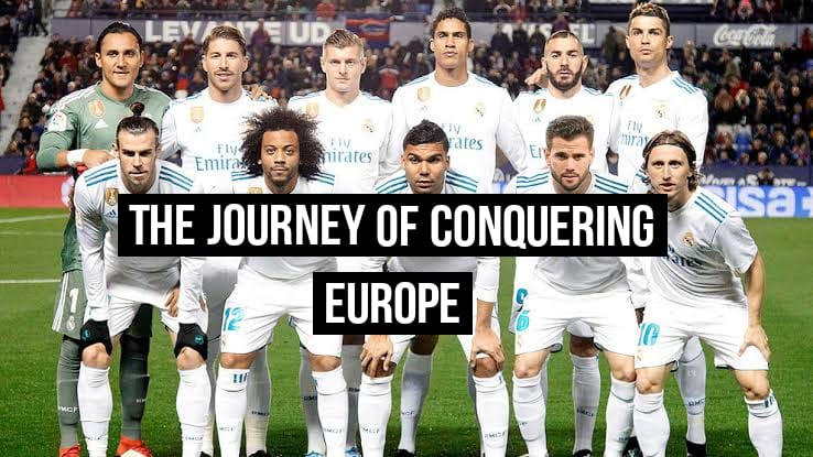 The conquest of Europe by Real Madrid 1