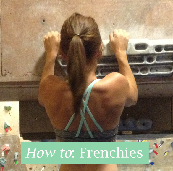 Frenchies for pull-up progression