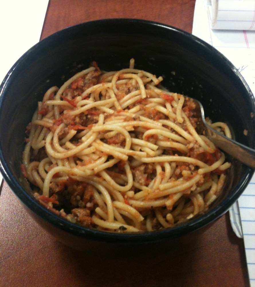 Quick Marinara Sauce For A Crowd, or