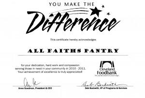 faiths pantry