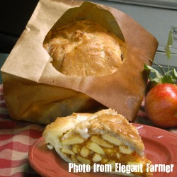 DIY: Elegant Farmer Apple Pie In A Paper Bag (2/6)