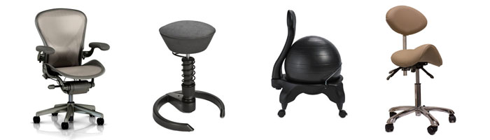 office chair alternatives fabric desk chairs healthy to traditional active prevent back ache