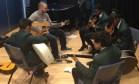 Oct.14cedar group rehearsal with Noel