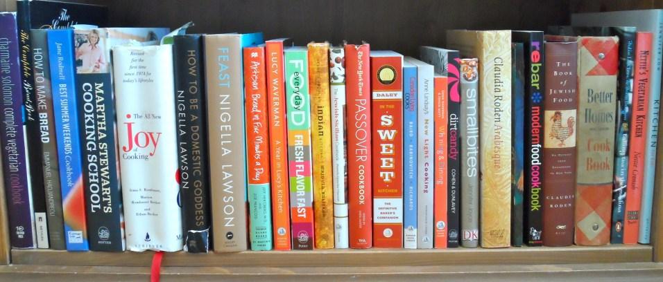 some cookbooks