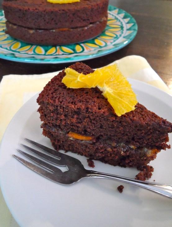 Cocoa Spice Cake